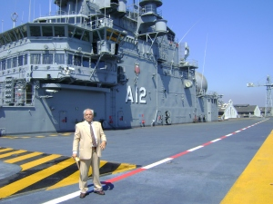 Visita com turma do CSA/QOC -2009