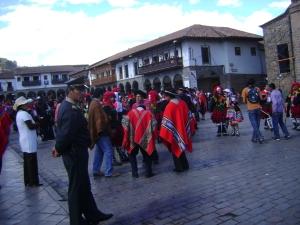 Praça principal de Cuzco