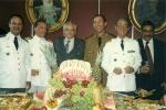 Festa de formatura da ESG no Clube Naval