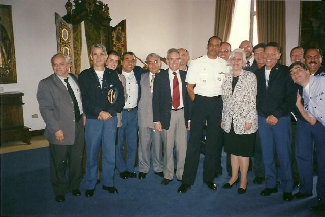 ESG - Visita ao Palácio do Governo Paulista 11/07/2002