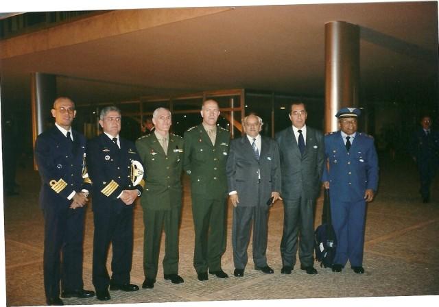 Visita a Brasília 07/08/2002
