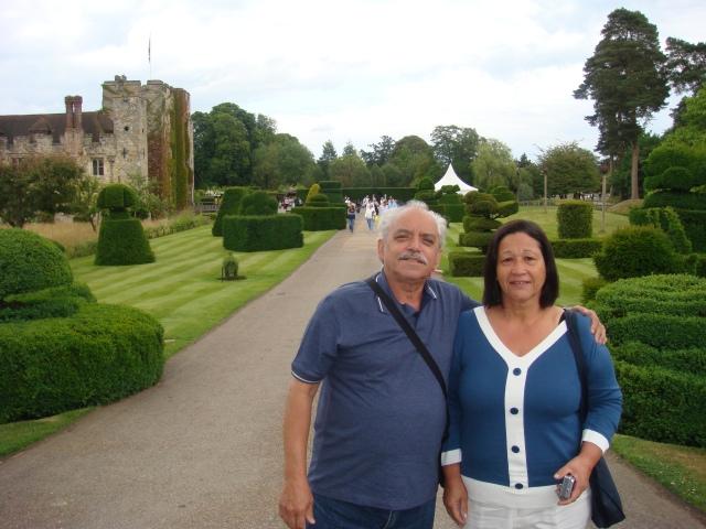 marlene e eu no Castelos