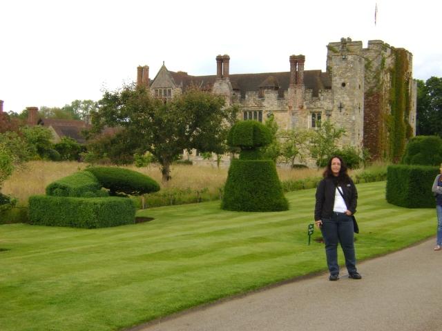 Emanuela no Hever Castle