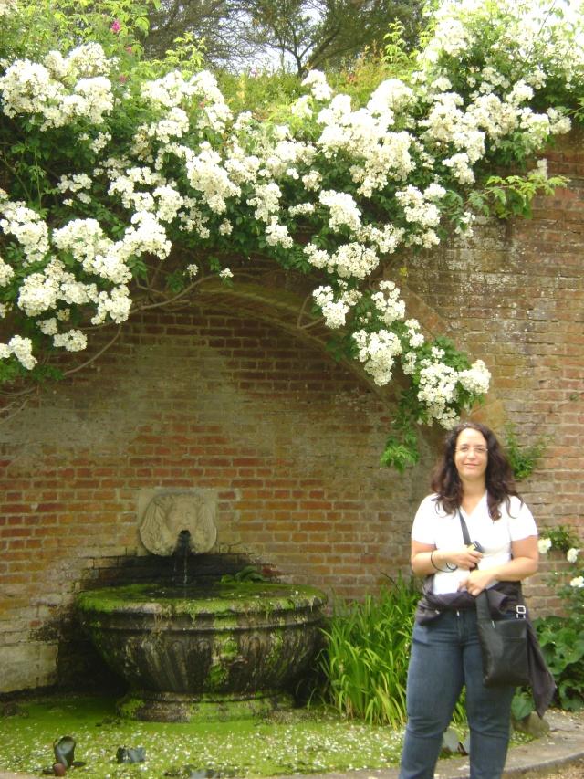 Emanuela e rosas