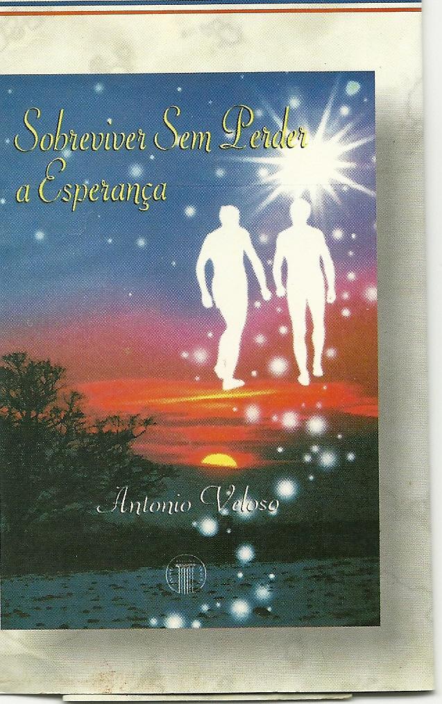 Sobreviver sem perder a esperança, capa do livro