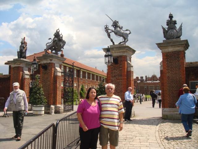 Palácio de Henrique VIII- Entrada