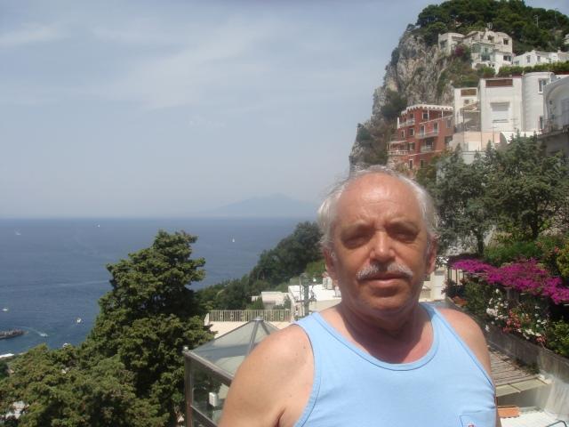na cidade de Capri